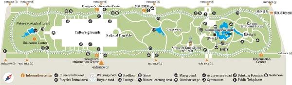 Map Yeouida Park